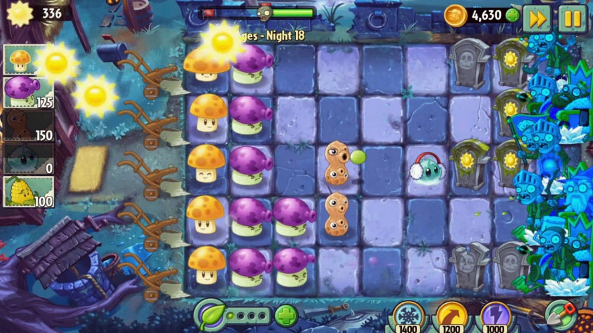 ч.131 Plants vs. Zombies 2 - Dark Ages - Day 18