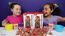 Bean Boozled Challenge! Warheads Extreme Sour Jelly Beans - Jelly Belly Candy Dispenser