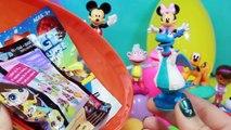 Ovos Surpresa Disney Mickey Mouse Clubhouse Minnie Pato Donald Dora Aventureira Brinquedos