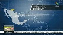 Registran nuevo temblor de magnitud 5.5 en el centro y sur de México