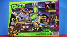 Teenage Mutant Ninja Turtles Turtle Sewer Lair TMNT MEGA Bloks Unboxing, Review By WD Toys