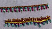 Hand Embroidery Designs | Basic embroidery stitches # Part 4