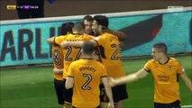 1-0 Diogo Jota Goal England  Championship - 14.10.2017 Wolverhampton 1-0 Aston Villa