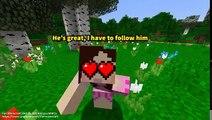 Jen discovered Pats terrible secret Minecraft PAT and JEN PopularMMOs Movie