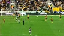 2-0 Harry Burgoyne Goal England  Championship - 14.10.2017 Wolverhampton 2-0 Aston Villa