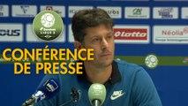 Conférence de presse FC Sochaux-Montbéliard - Paris FC (1-0) : Peter ZEIDLER (FCSM) - Fabien MERCADAL (PFC) - 2017/2018