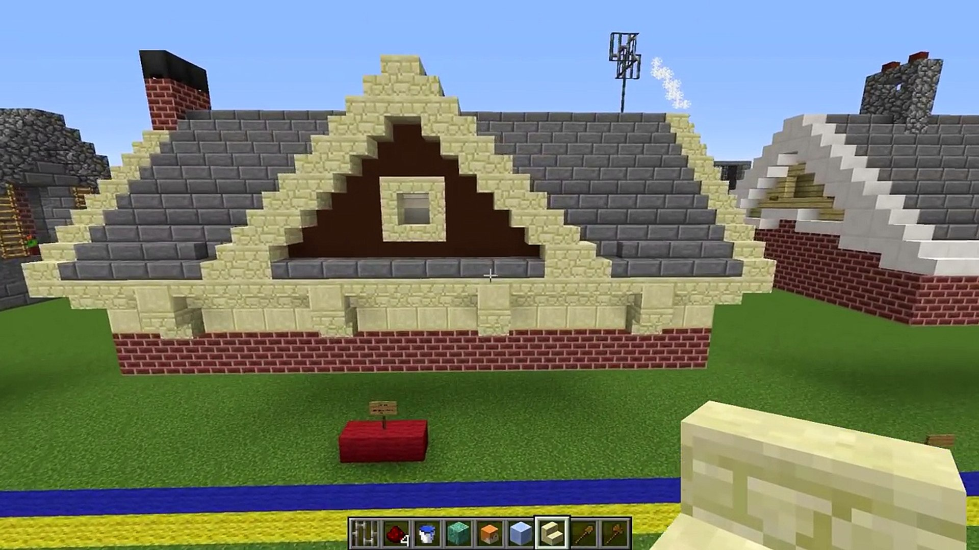 Minecraft 18 Roof Designs 影片 Dailymotion