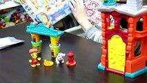 PLAYDOH TOWN CASERMA DEI POMPIERI, gioco per bambini e ragazzi, creatività, fantasia e divertimento!
