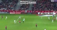 Thiago Mendes GOAL HD - Lille 2-1 Troyes 14/10/2017 HD