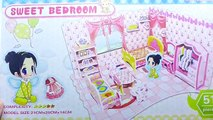3D Puzzles Sweet Bedroom (DIY Toys Puzzle For Kids)