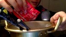 ASMR Eating Sounds _ Extreme Spicy Ramen Challenge _ Korean Noodles 불닭볶음면
