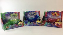 PJ Masks Deluxe Vehicles Catboy Cat-Car Gekko Mobile Owlette Owl Glider || Keiths Toy Box