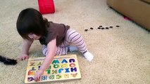 Abby and The Alphabet Puzzle by Melissa & Doug