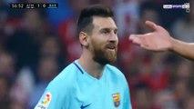 ملخص مباراة برشلونة و أتلتيكو مدريد 1-1 شاشة كاملة ( الدوري الاسباني)  14-10-2017