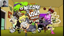 Nick Games| The Loud House | Welcome To The Loud House
