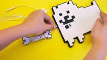 DIY Easy and Cheap Undertale Phone Case & Earphone Holder! Annoying Dog Phone Cover Tutorial Craft