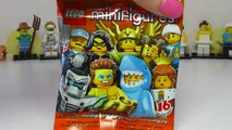 Lego Minifigures Series 15 Blind Bag Opening! NEW Lego Mini figures 71011 Giant Surprise Unboxing