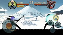 Shadow Fight 2 - Sensei vs Shadow Lady