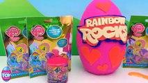 My Little Pony Blind Bags Rainbow Rocks Play Doh Egg Surprise MLP Rainbow Dash STF