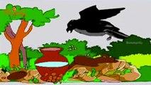 Thirsty Crow Story in Telugu | Telugu Moral stories for Kids