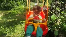 VLOG - Şeymanın Eğlenceli Doğa tatili /dağ evi oyun parkı / şelale havuzu / Kids holiday fun