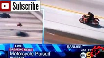 ★ MOTO VS POLICE ★ Police PURSUIT Ghostrider on the highway - COMPILATION ✔