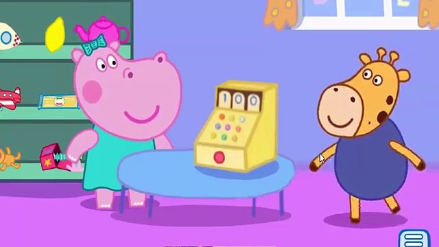 Hippo Peppa Shop - Cartoon For Kids   Peppa Pig Shopping - Baby shop 2