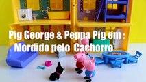 Peppa Pig George é Mordido Pelo Cachorro - Peppa Pig Portugues Completo