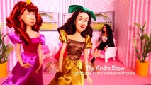 CINDERELLA COMPLAINS ABOUT HER STEPMOTHER in this Toy and Doll Talk Show - The Andre Show