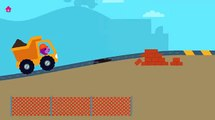 Sago Mini Trucks & Diggers - Fun Sago Kids Game Building Sweet Home - Sago Sago Cartoon for kids