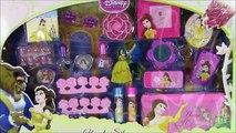 Belle Beauty & The Beast Jumbo Beauty Set! Disney Princess Belle Lip Gloss Nail Polish Cosmetics!