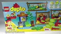 JAKE AND THE NEVER LAND PIRATES (Lego Duplo) Pirates Peter Pans Visit Unboxing 10526