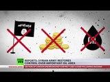 No Oil, No Money, No Caliphate? Syrian Army takes control over strategic oil area near Deir ez-Zor