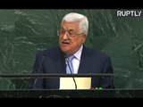 President of the State of Palestine Mahmoud Abbas addresses UNGA (Streamed live)