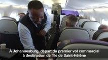 L'île de Sainte-Hélène enfin desservie par un vol commercial
