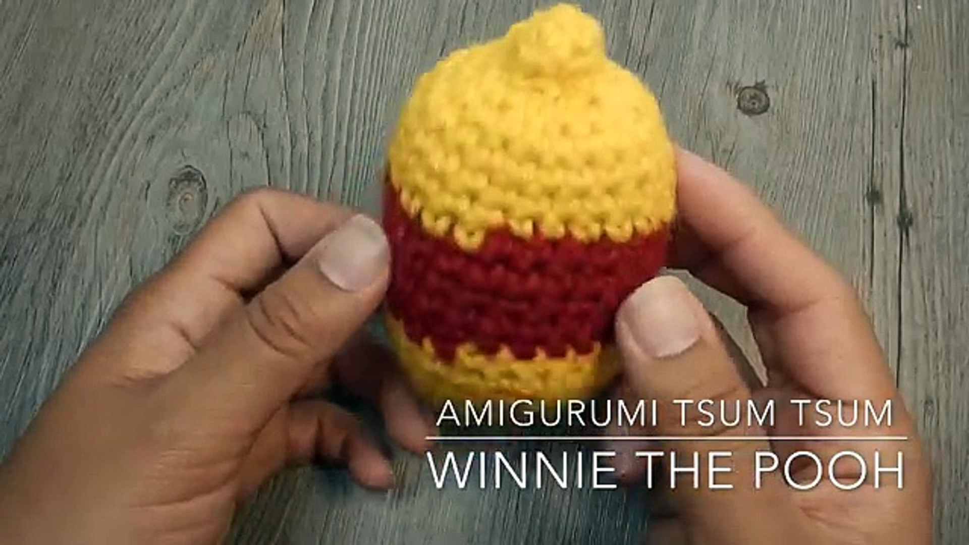 Amazon.com: Crochet Winnie the Pooh, amigurumi stuffed plush toy ... | 1080x1920