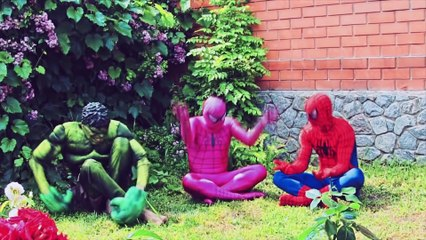 Spiderman vs Frozen Elsa Crazy Olympic Gymnastics Disney Princess - Funny Superheroes Real
