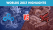 Highlights: C9 vs AHQ - Worlds 2017 Group Stage