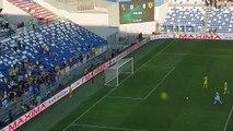 Sassuolo-Chievo 0-0, il saluto dei giocatori del Chievo ai tifosi a fine gara