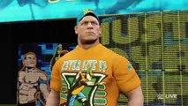 WWE-2K16 -John Cena vs. Seth Rollins - Steel Cage Match:RAW 2016 WWE-2K16(PS4)