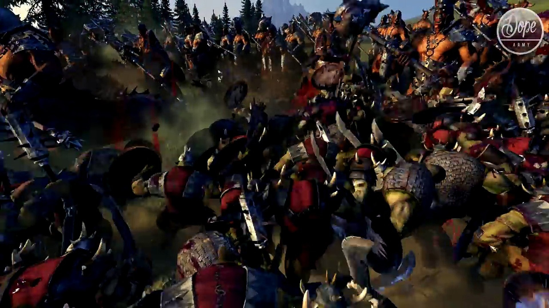 BLOOD & GORE MOMENTS | New DLC Warhammer Total War : Blood For The Blood God