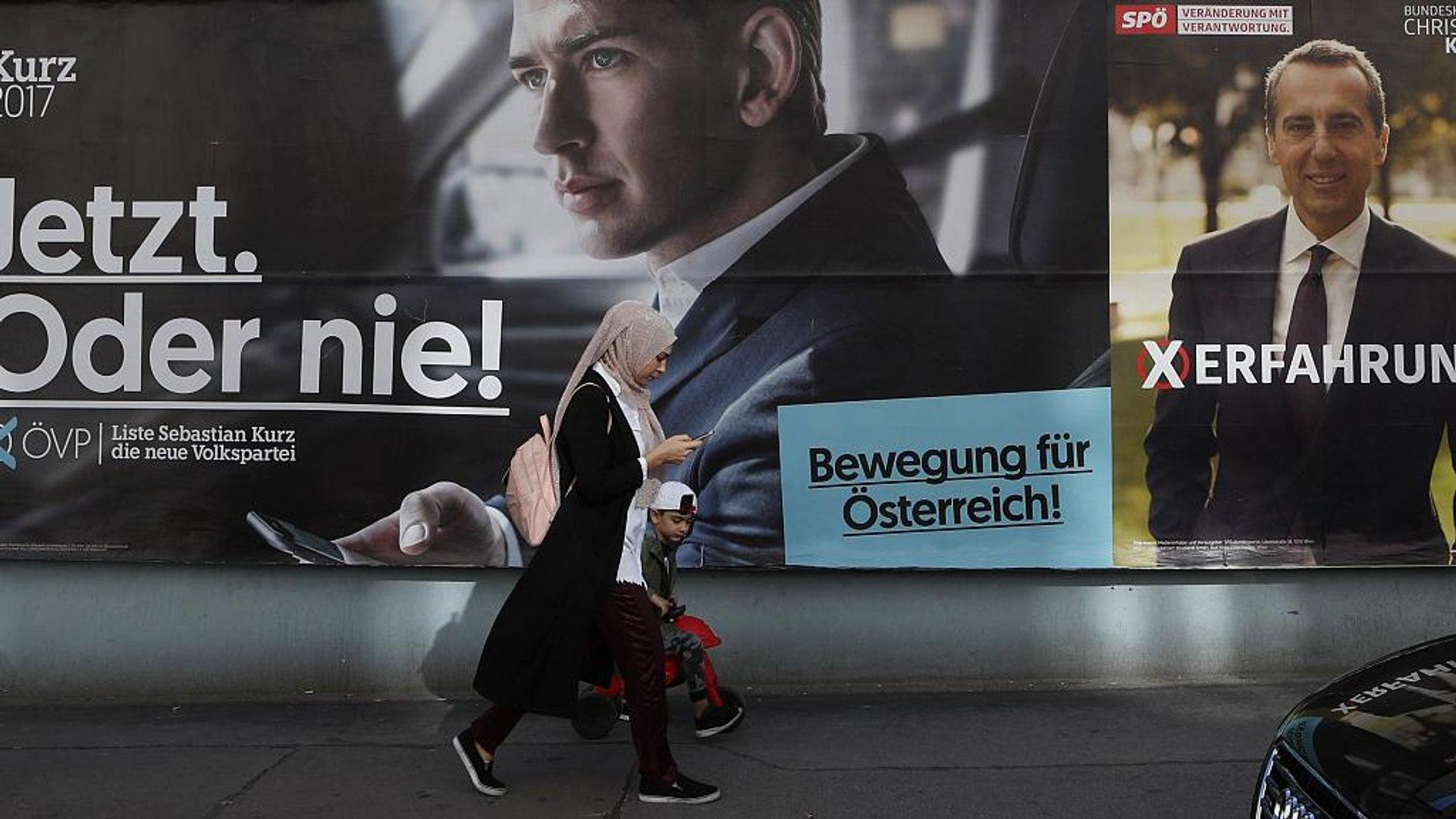 Avusturya'daki seçimlerde ilk sandık çıkış anketlerine göre merkez sağ Avusturya Halk Partisi ö