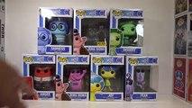 Disney/Pixar Inside Out - Funko Pop! Figures [Disgust, Fear, Bing Bong, Sadness, Anger & Joy]