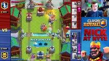 GOLEM + ICE WIZARD Deck! Great Clash Royale Balanced Deck!