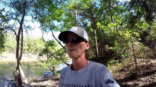 Bank Fishing For Blue Catfish - Fishing For Catfish From The Bank