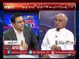 Benazir bhutto ne faisla kya tha ke Asif Zardari siyasat nahi karen ge, kkhuda ki qisam yeh Benazir ke alfaaz hain, must