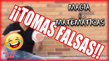 TOMAS FALSAS | MAGIA + MATEMÁTICAS | VLOG | Is Family Friendly