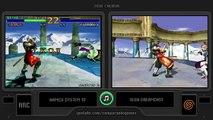 Dual Longplay [02] Soul Calibur (arcade vs dreamcast)