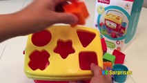 FISHER PRICE Baby First Blocks Learn Shapes Learn Colors for Babies Toddlers Kids ABC Surprises