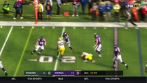 Minnesota Vikings RB Jerick McKinnon takes beautifully designed screen pass in for a 27-yard TD